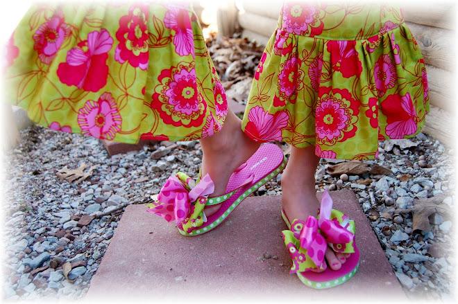 Made To match Flip Flops By Fancyfeetflipflops.blogspot.com