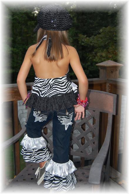 Back View of ROCKSTAR Pant Set