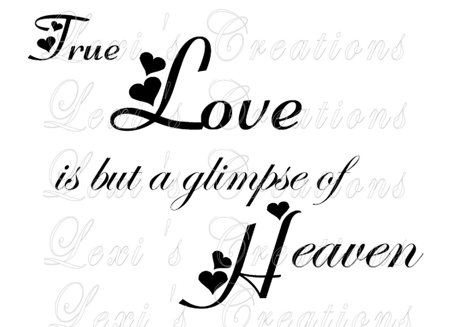 Lexi's Creations: New sentiment word art available at Lexi's ...