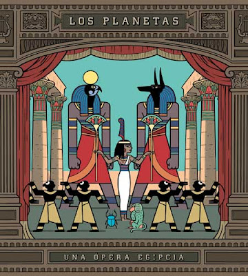 Carátula de Una Opera Egipcia de Los Planetas