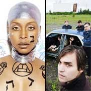 Erykah Badu y Arcade Fire