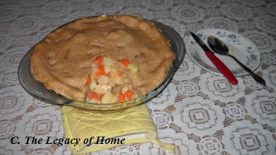 chicken+pot+pie+2 Sharons Creamy Chicken Pot Pie