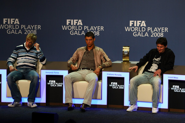 messi vs ronaldo. hairstyles Ronaldo vs Messi on