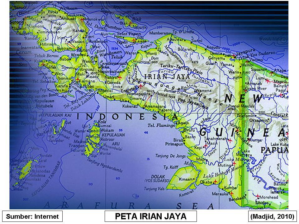 Peta Irian Jaya