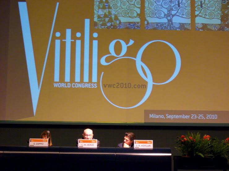 I CONGRESO MUNDIAL DE VITÍLIGO - MILÁN