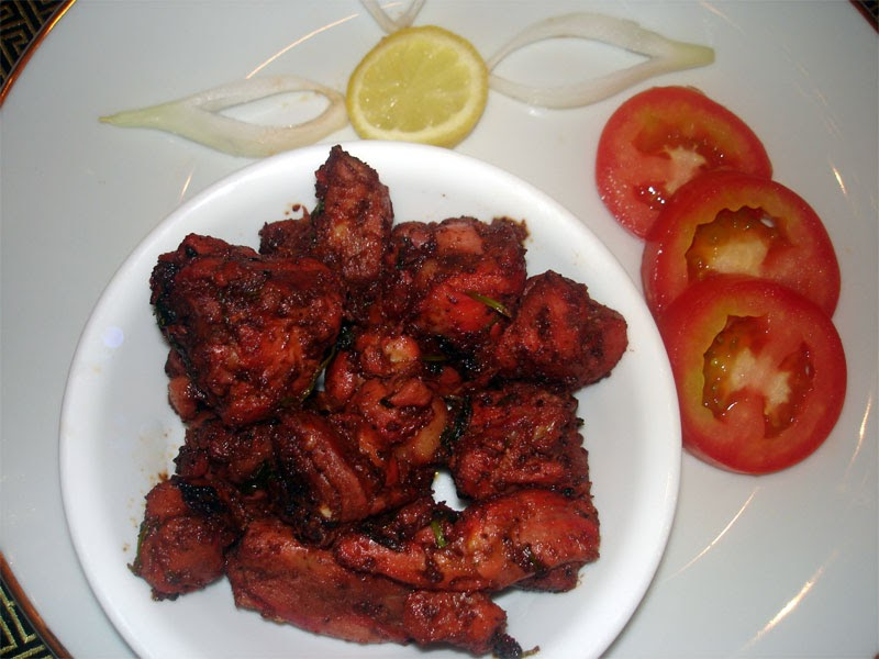 Spicy Chicken Dry Recipe - Indian Food Recipes
