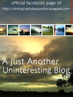 official facebook page of A Just Another Uninteresting Blog