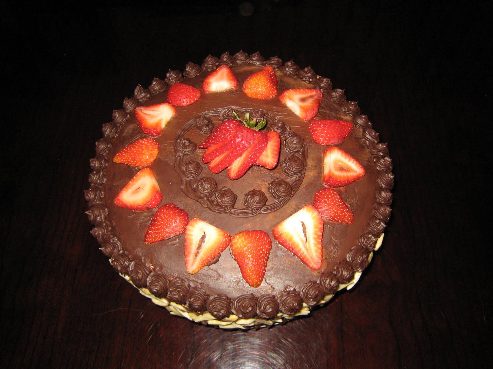The Baking Network Birthday Cake 2010