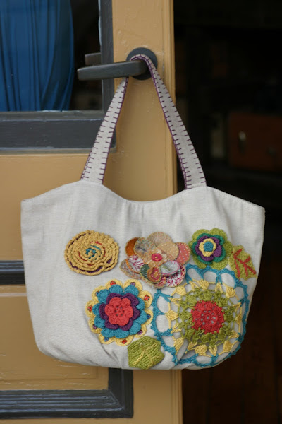Summer Bag with Appliques and Details