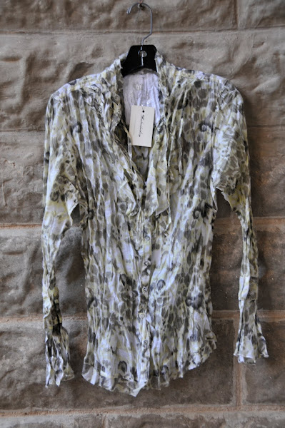 Printed Cotton button blouse
