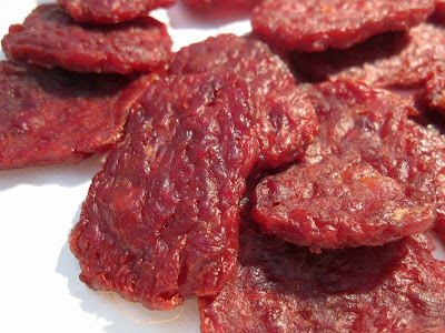chopped & formed beef jerky