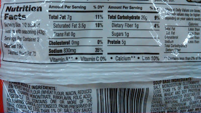 maruchan ramen nutrition facts