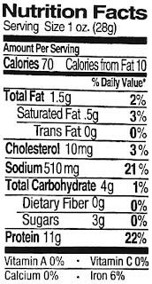 teriyaki beef jerky nutrition