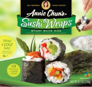 annie chun's sushi wraps