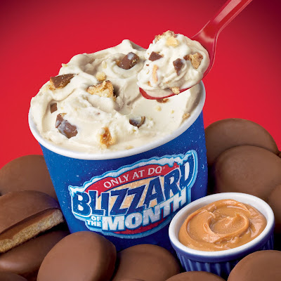Dairy Queen Tagalongs Peanut butter Blizzard