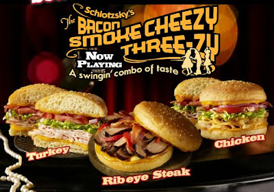 Schlotzsky's New Bacon Smokecheezy Line