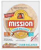 mission tortillas carb balance