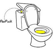 pee puck instructions
