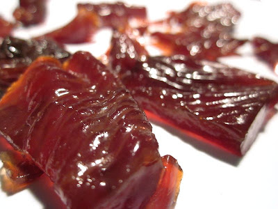 cherry maple turkey jerky