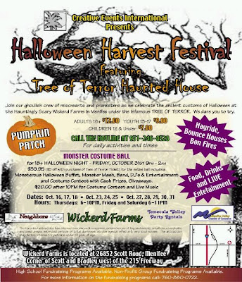 Halloween Harvest Festival in Menifee