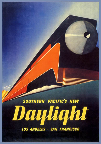 Trouble In Paradise: V... Vintage Train Poster
