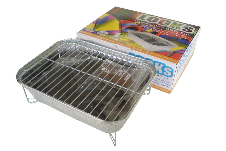 DISPOSABLE BARBECUE SET
