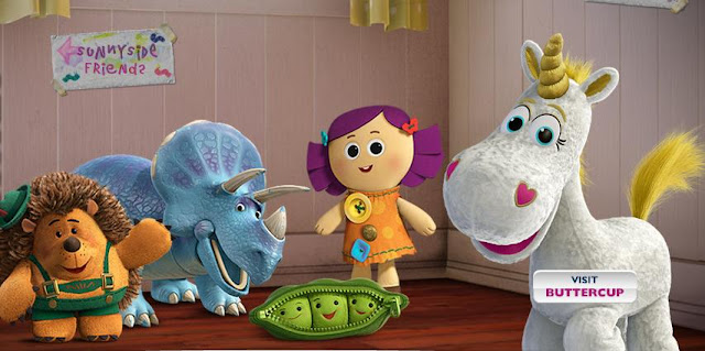 toy story 4 characters. For children ages 4 and up.