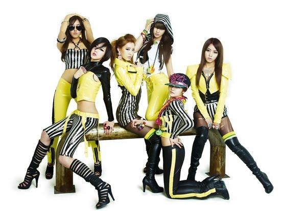 الفرقه الكوريه الرائعه تارا (T_ARA)