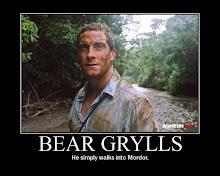 Bear Grylls en acción: