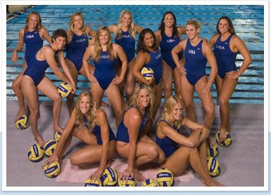Hugging Harold Reynolds: US Women's Water Polo Goes for Gold