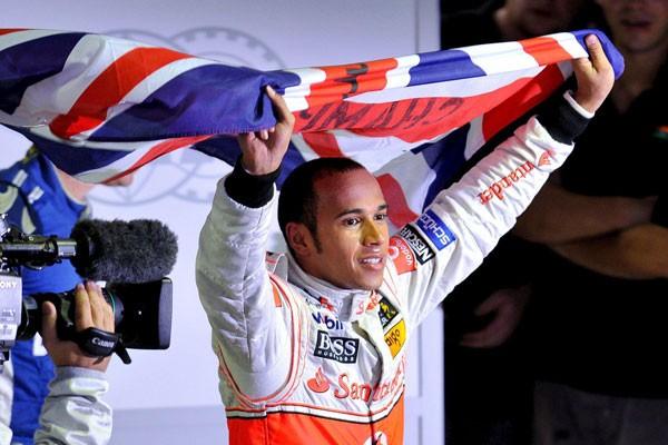 Hamilton fue quinto y se consagró campeón
