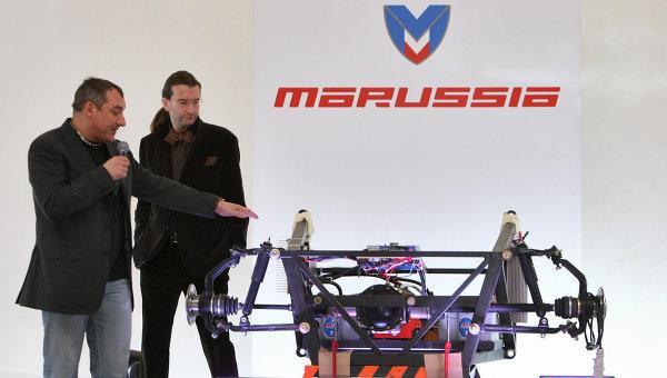Desembarco ruso en la F1