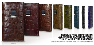 Cool iPhone Italian leather cases from OCTO