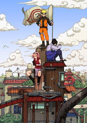 naruto sasuke sakura kakashi. naruto, sasuke n sakura