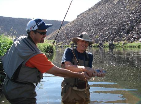Virtual fly guides owens river ca fly fishing report for Owens river fishing report