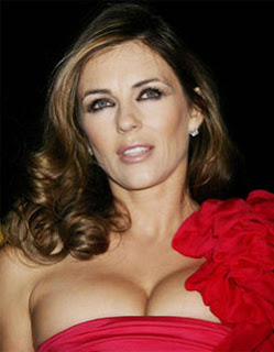 Liz Hurley left many eyes popping at a charity
