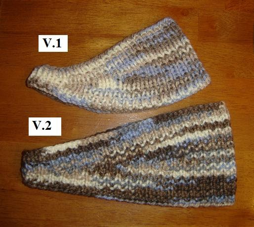 Knitting Patterns For Ear Warmers With Flower : Taras Knits: Ear Warmers - Versions 1 & 2