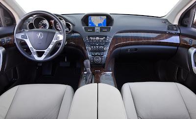 2010 Acura  on 2010 Acura Mdx Interior