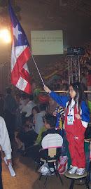 Bandera Boricua bien en Alto