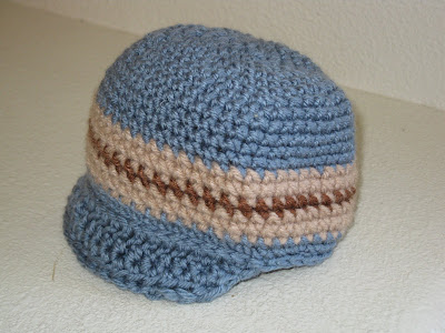 CROCHET BEANIE WITH A BRIM PATTERN FREE CROCHET PATTERNS