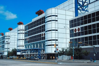 George R Brown Convention Center in Downtown Houston Texas