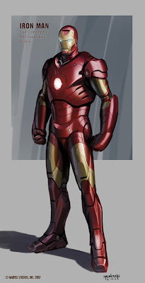 Here are a few of the final design renderings for the Mk 3 suit.