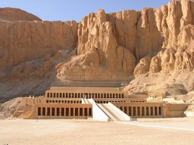 Catacombs Of Kom El Shoqafa. at Deir el-Bahri.