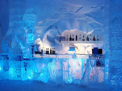 Elektra's Underground Lair Bar+in+ice+hotel