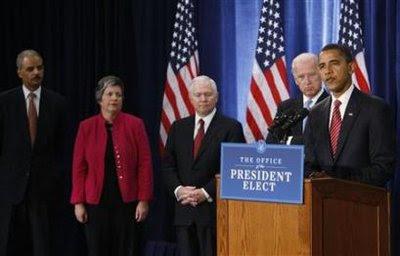 باراك أوباما مع من أختارهم