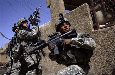 الجنود الأمرييكين فى العراق