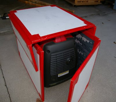 Yamaha Generator Weather Enclosure Diy