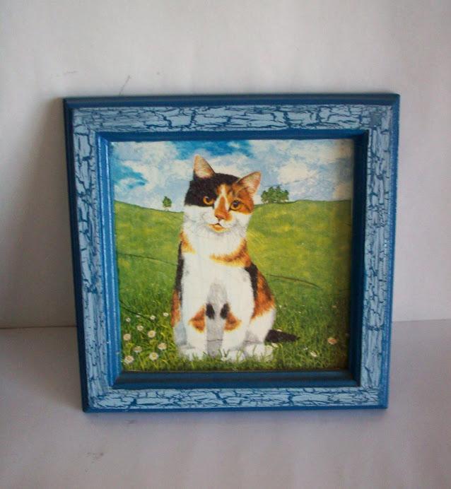 cuadro gatito