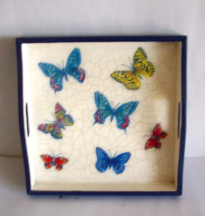 bandeja mariposas