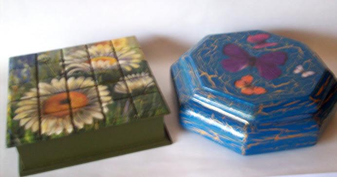 cajas distintas tecnicas